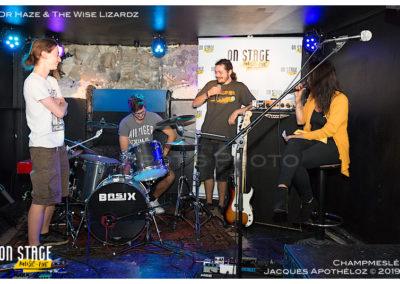 Interview de Dr Haze & The Wise LizardzChampmeslé_Jacques Apothéloz 18.9.19 12