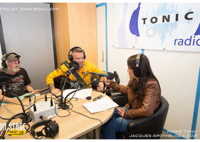 Interview avec Phil et John Woolloff-Radio Tonic_Jacque 5Apothéloz 30.05.21 13