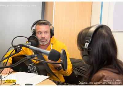 Interview avec Phil et John Woolloff-Radio Tonic_Jacque 5Apothéloz 30.05.21 14