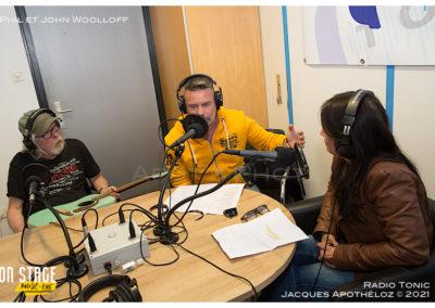 Interview avec Phil et John Woolloff-Radio Tonic_Jacque 5Apothéloz 30.05.21 15