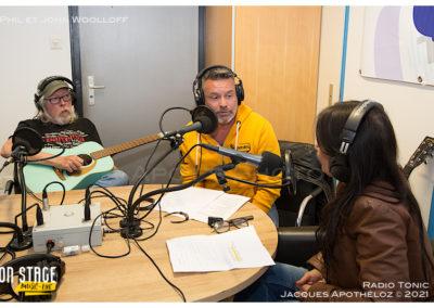 Interview avec Phil et John Woolloff-Radio Tonic_Jacque 5Apothéloz 30.05.21 16